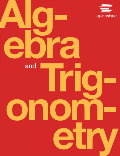 Cover image for Algebra and Trigonometry OpenStax