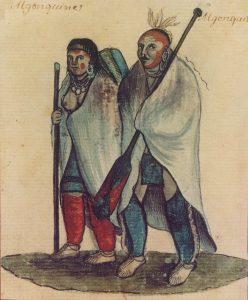 . Algonquin couple of the Kitcisipiriniwak