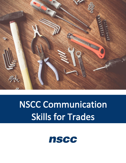 Cover image for NSCC Communication Skills for Trades