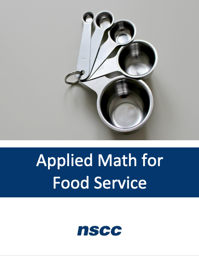 Cover image for Applied Math for Food Service