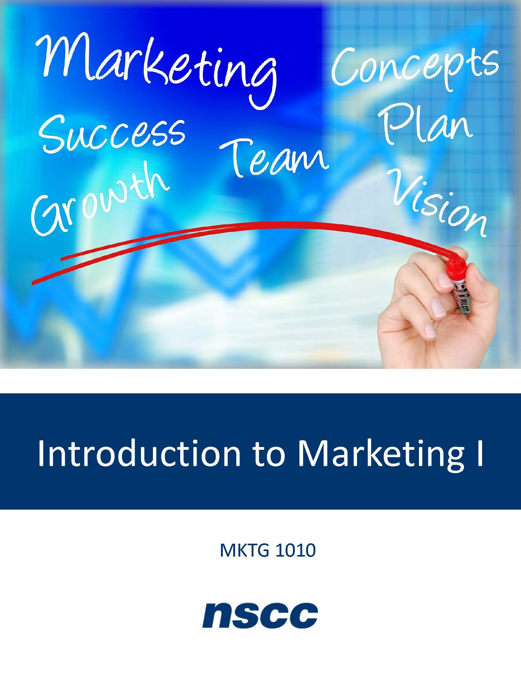 Cover image for Introduction to Marketing I (MKTG 1010)