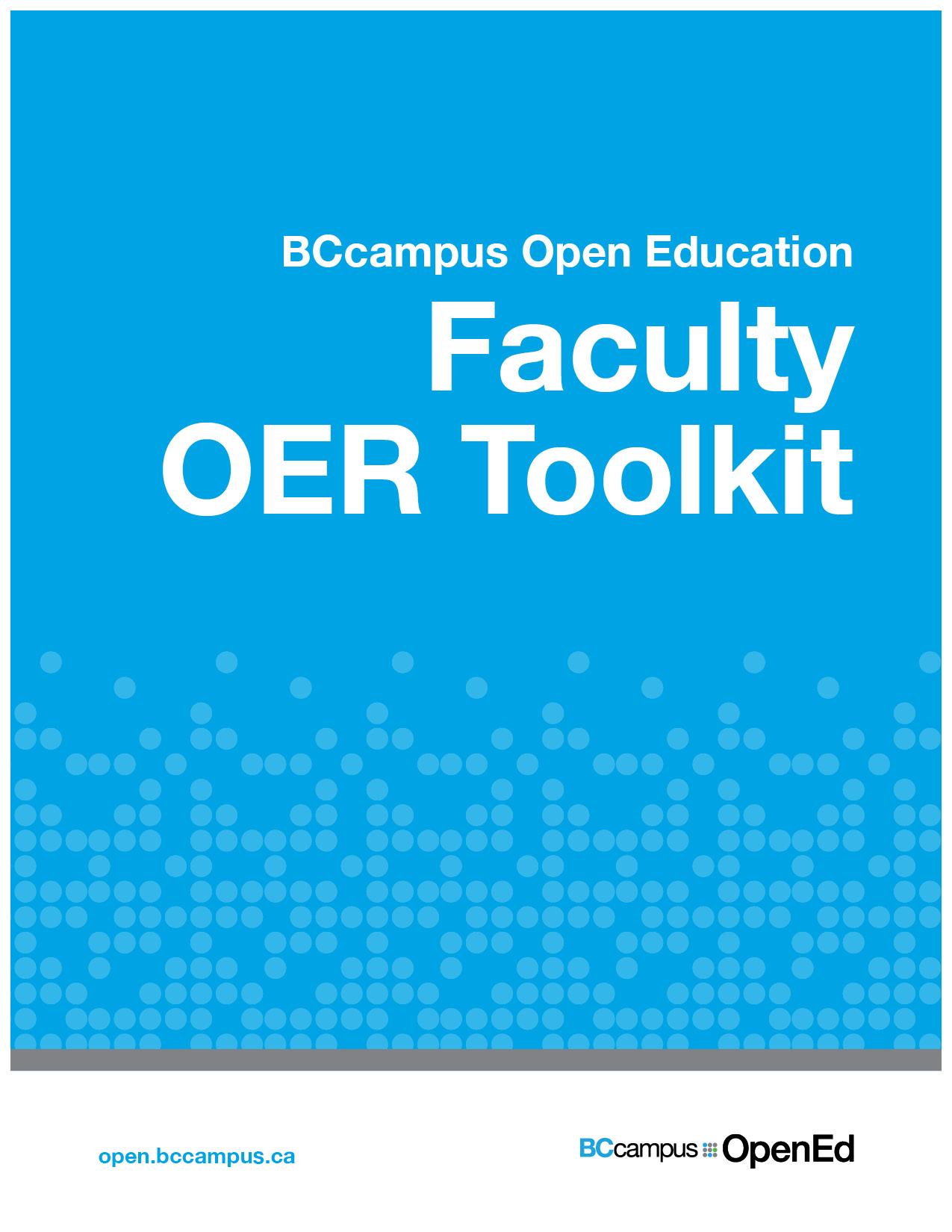 Cover image for Faculty OER Toolkit