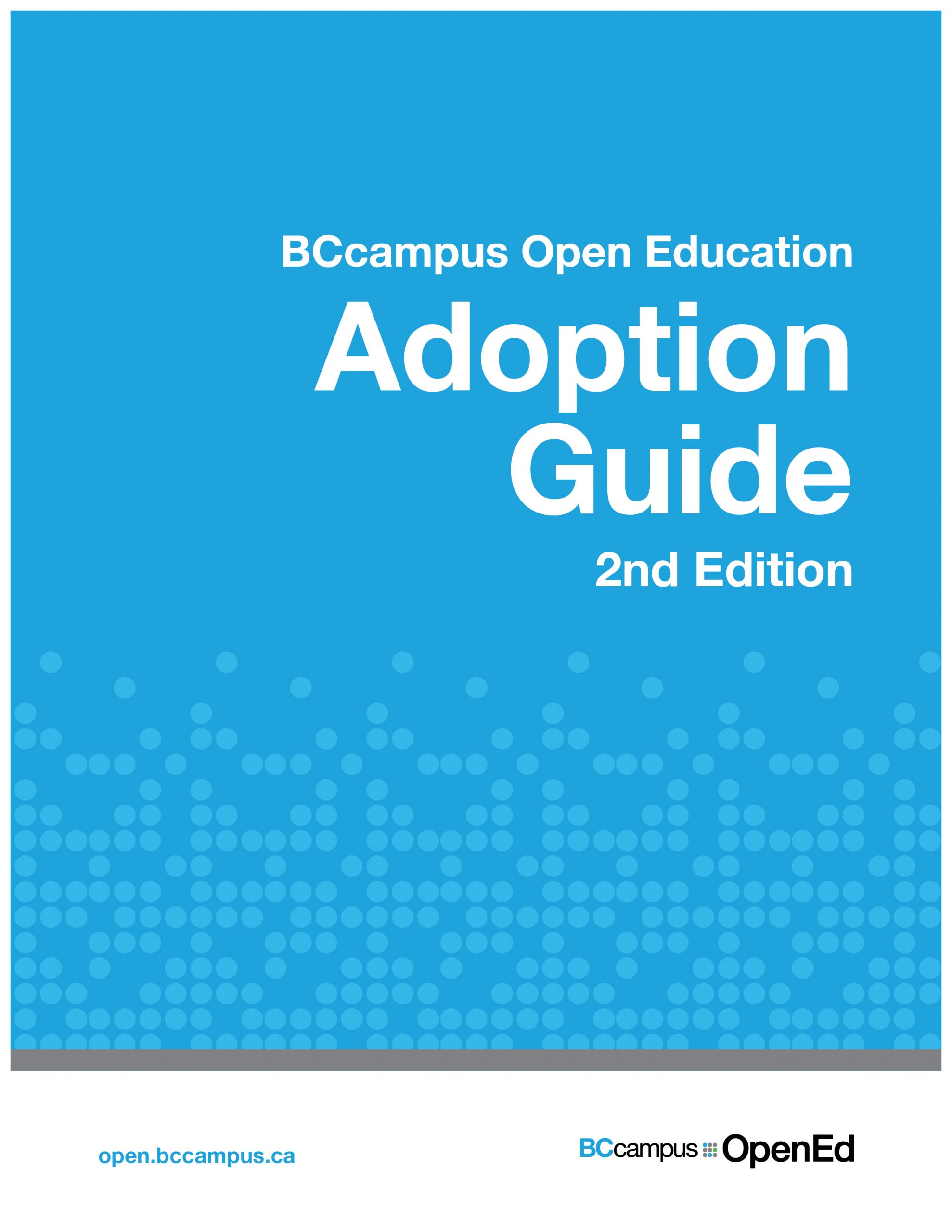 Cover image for Adoption Guide 2nd Edition