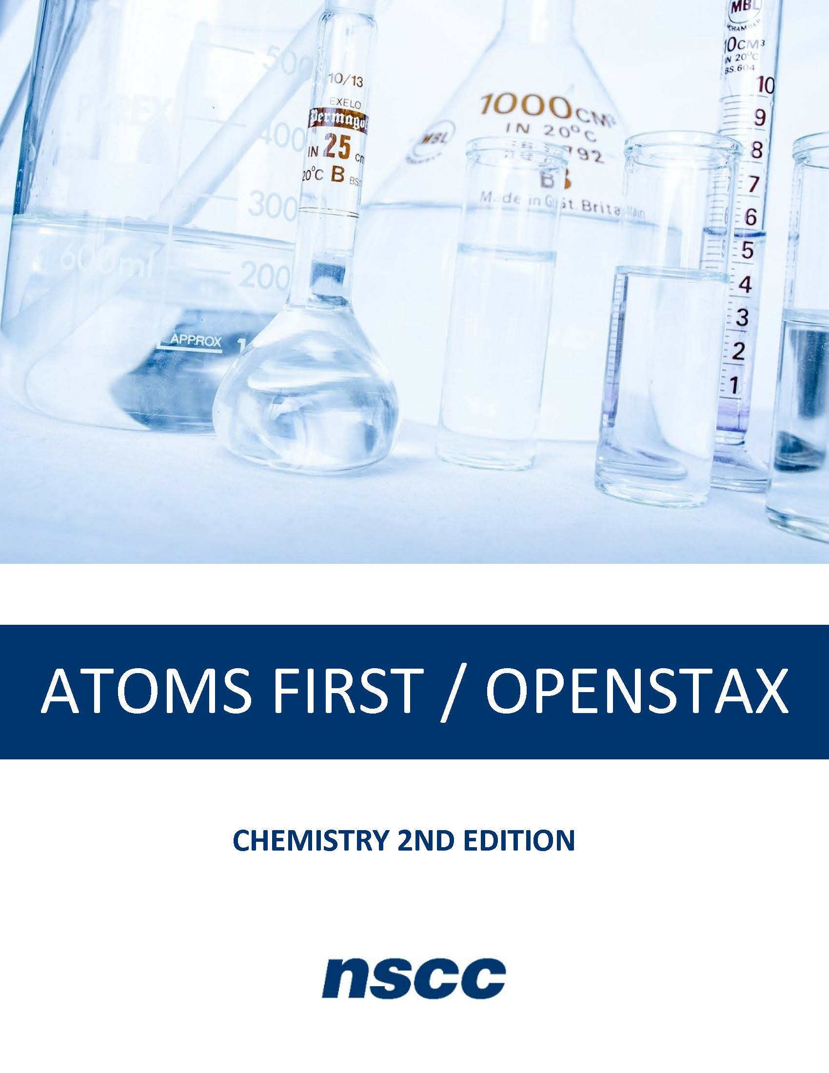 Cover image for Atoms First / OpenStax