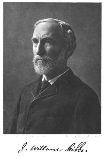 Figure #.#. A portrait of J. Willard Gibbs.