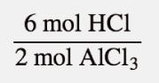 6molhcl