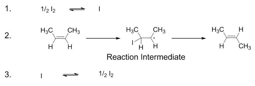 17.7.3. But-2-ene catalyzed isomerization steps.