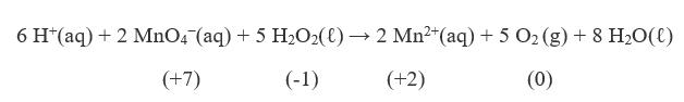 complex redox reaction
