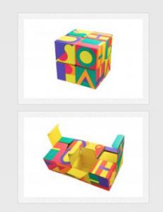 Lush Reusable Magic Cube Box won awards for its packaging