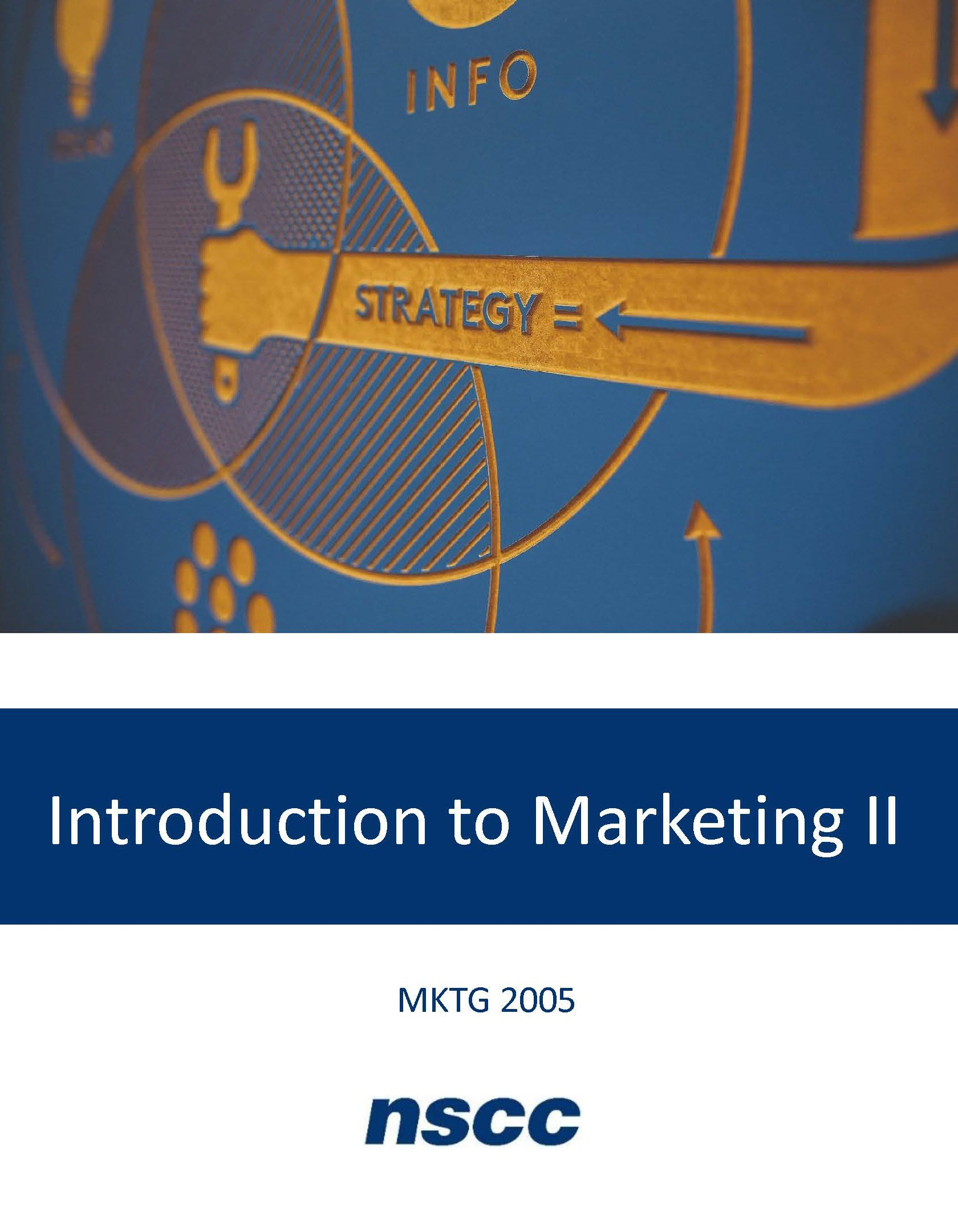 Cover image for Introduction to Marketing II (MKTG 2005)