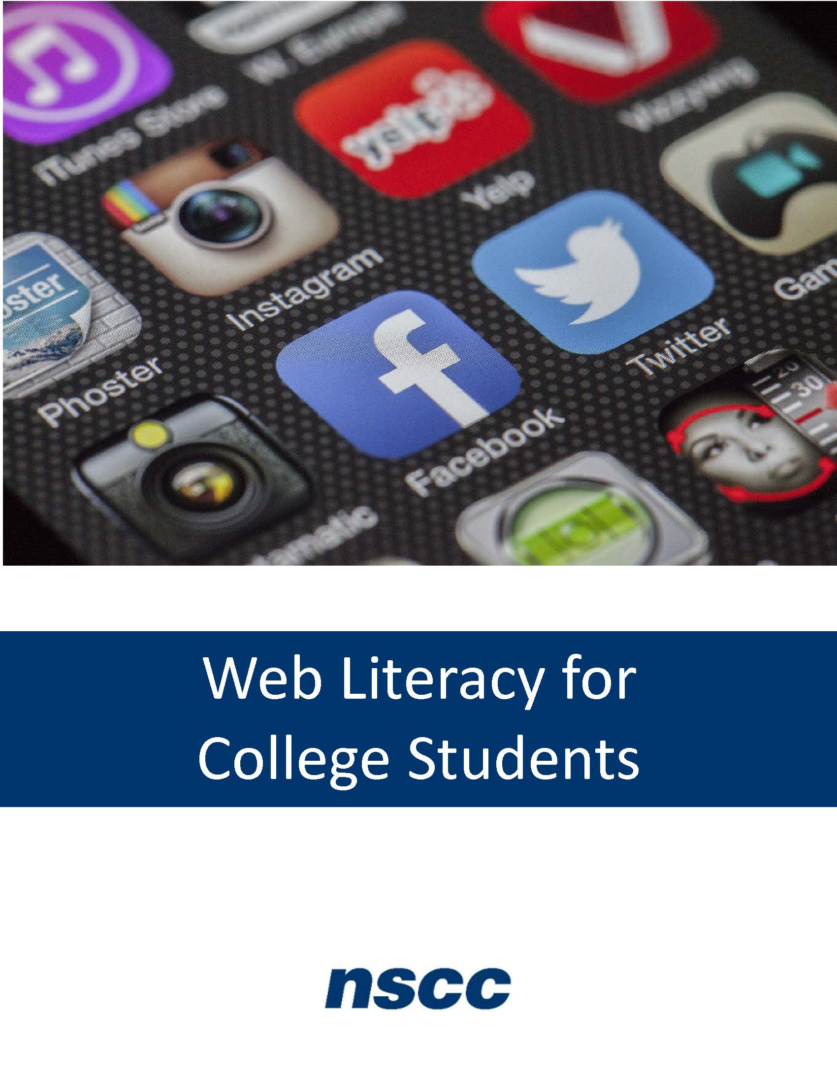 Cover image for NEW Web Literacy for College Students 2nd Ed